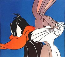 Daffy Duck and Bugs Bunny pic